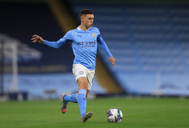 Foden has scored three times in six Premier League games this season