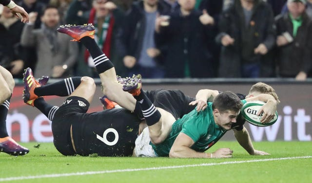 Ireland v New Zealand – Autumn International – Aviva Stadium