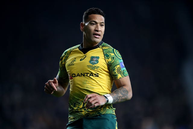 Israel Folau File Photo