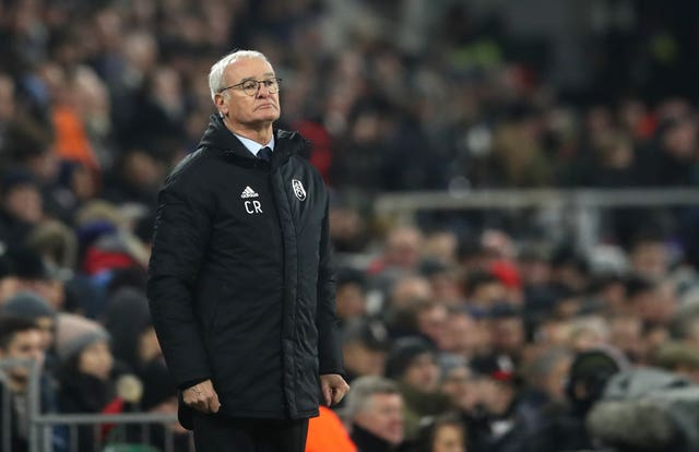Fulham manager Claudio Ranieri has also been critical of Kamara (Adam Davy/PA Images)