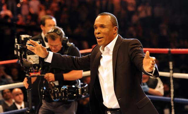 Sugar Ray Leonard won world titles in five different weight categories (Andrew Matthews/PA)