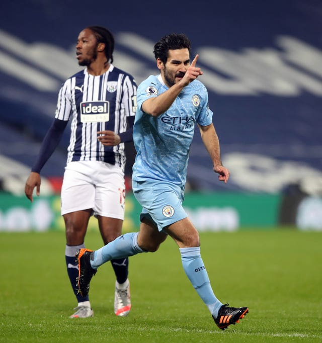 Ilkay Gundogan has been in fine form in the absence of star colleagues