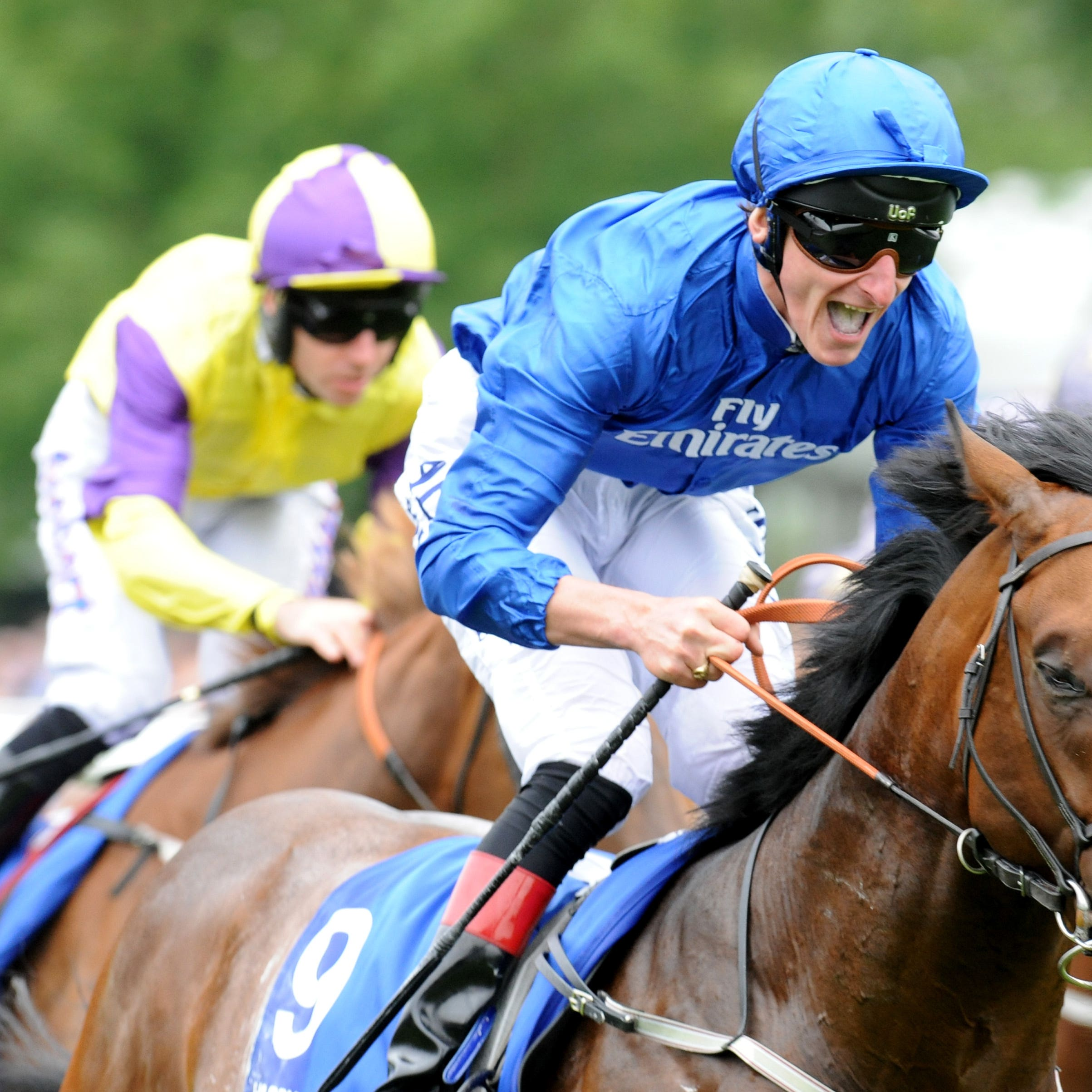 Harry Angel after winning the July Cup at Newmarket last summer (Rui Vieira/PA)