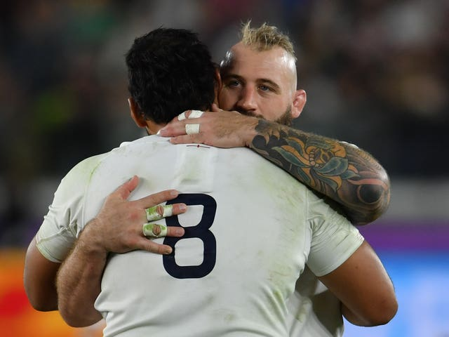 Joe Marler and England tasted defeat in last November's World Cup final
