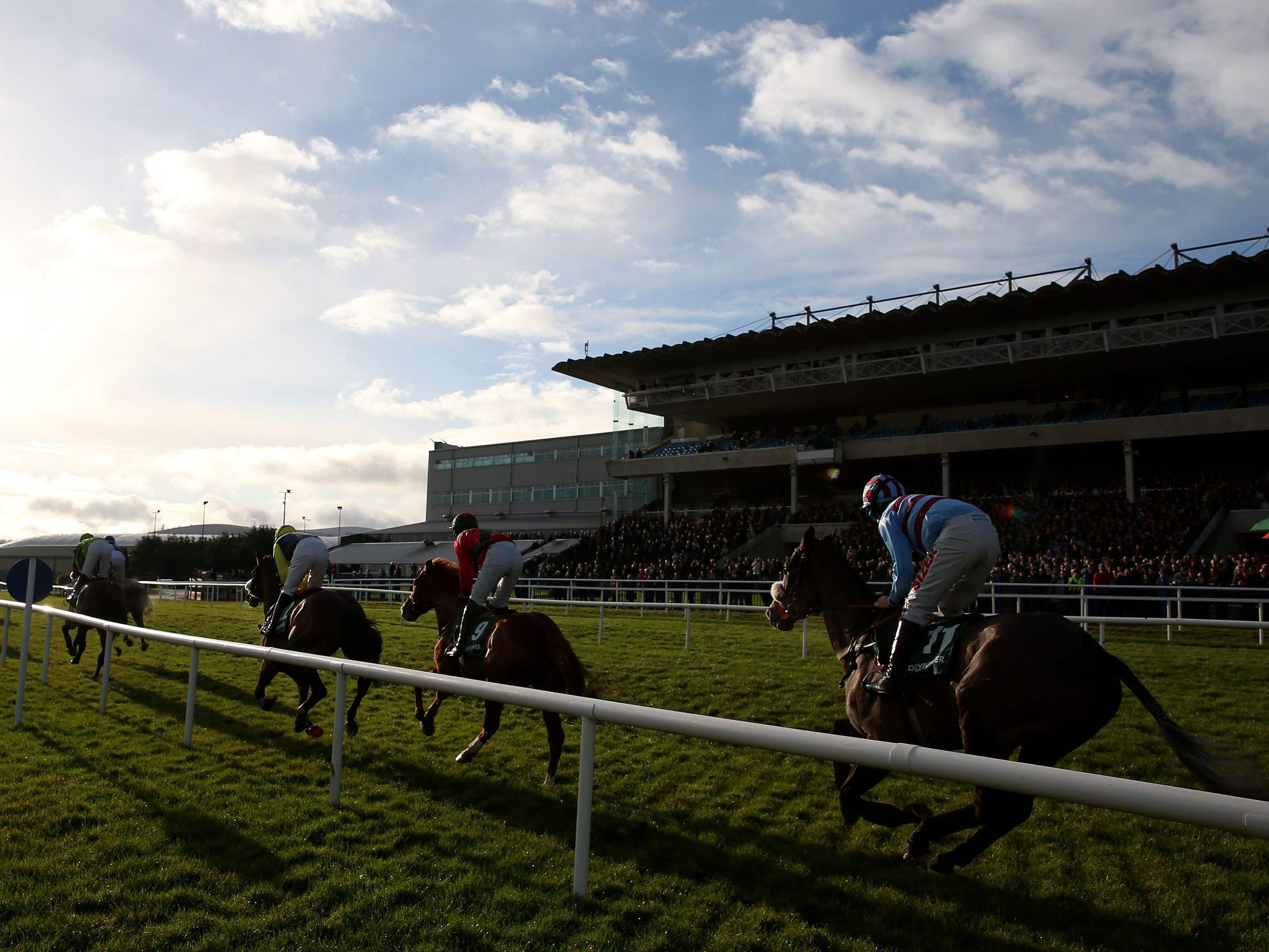 Racing at Leopardstown (Brian Lawless/PA)
