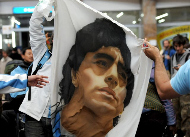 Maradona was loved by fans