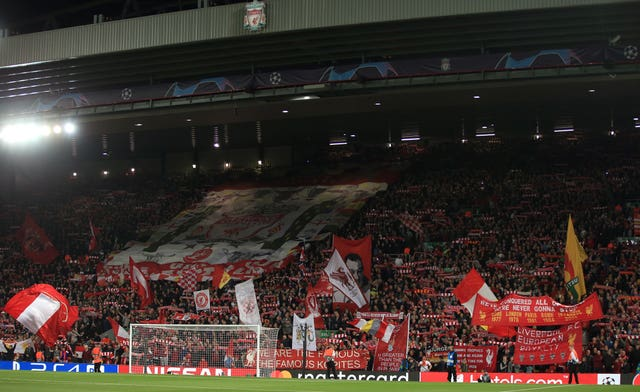 Jurgen Klopp is hoping for a big atmosphere at Anfield