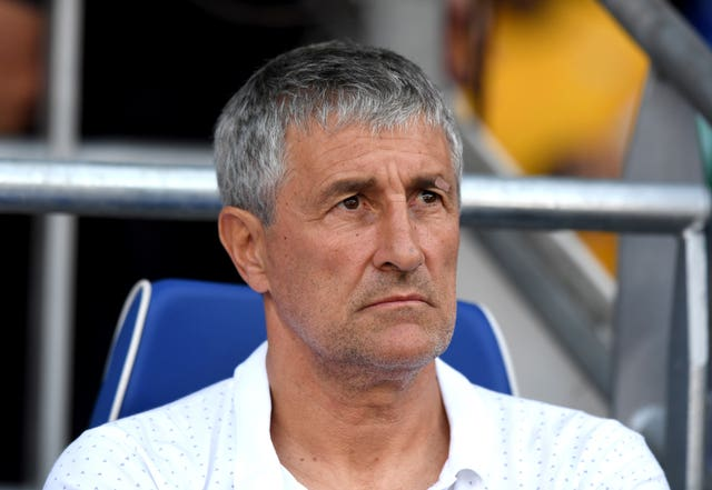 Quique Setien failed to lead Barcelona to success in LaLiga, the Copa del Rey and the Champions League