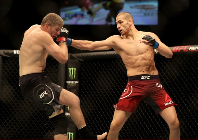 Tom Breese, right, made an impressive start to life in the middleweight division (Martin Rickett/PA)
