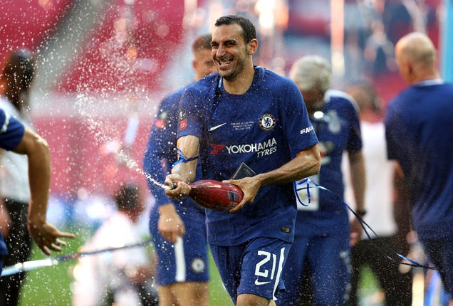Zappacosta won the FA Cup and Europa League with Chelsea