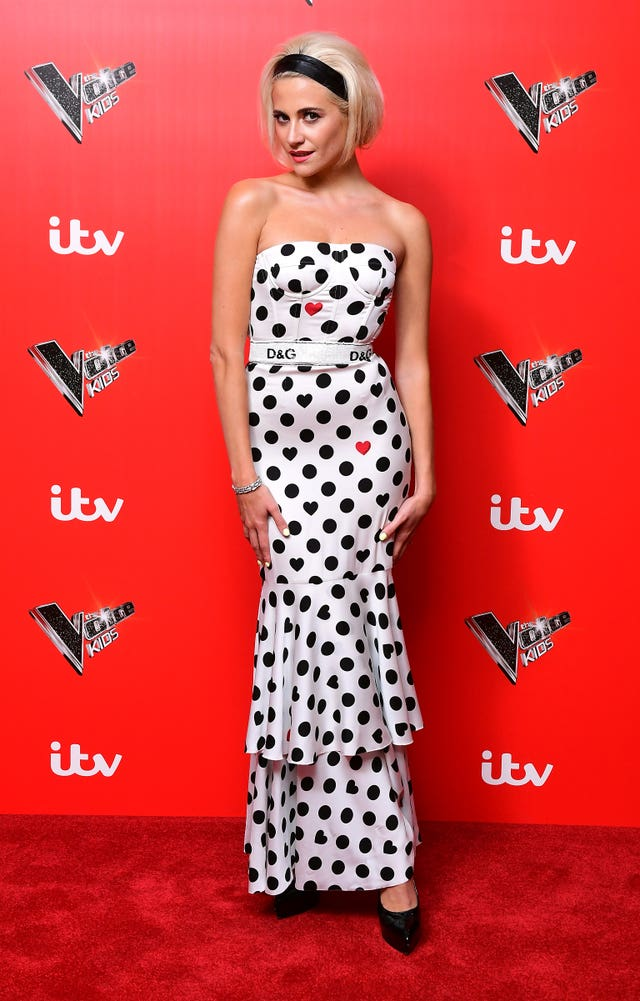 Singer Pixie Lott at the The Voice Kids