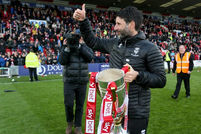 Danny Cowley enjoyed great success with Lincoln.