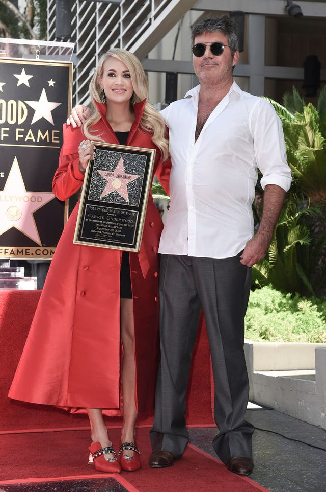 Carrie Underwood Honored with a Star on the Hollywood Walk of Fame