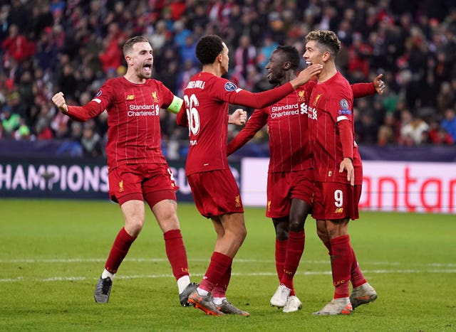 FC Red Bull Salzburg v Liverpool – UEFA Champions League – Group E – Red Bull Arena