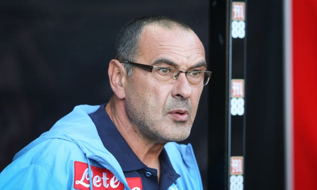 Maurizio Sarri spent three seasons as Napoli manager