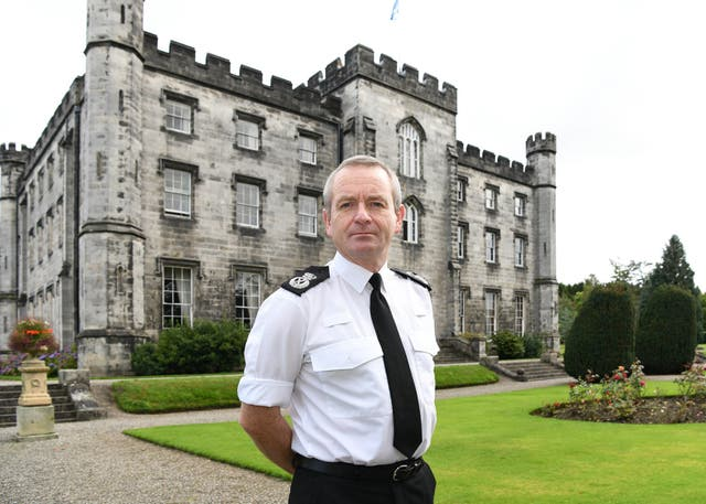 New Chief Constable of Police Scotland