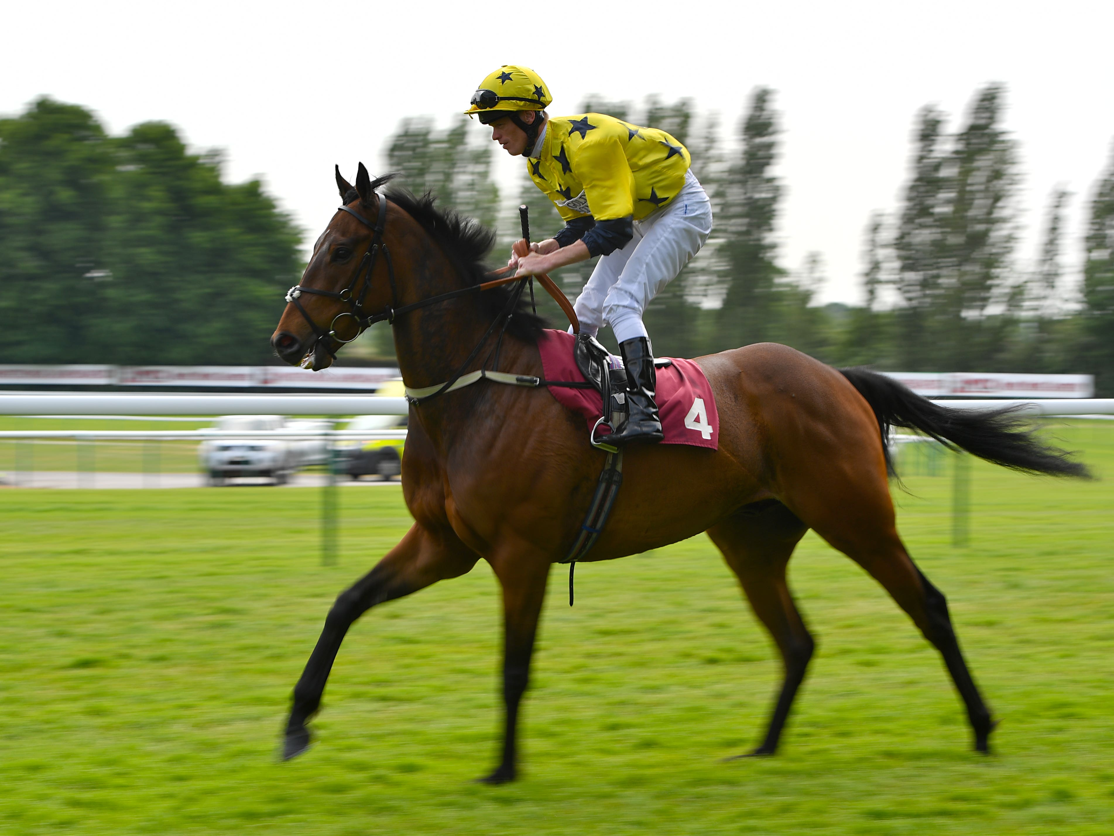 Euchen Glen will have some big targets next year, after continuing his winning spree at Newbury (Anthony Devlin/PA)