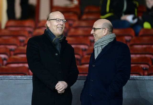 Manchester United joint chairmen Joel Glazer (right) and Avram Glazer (left) were criticised by former player Gary Neville.