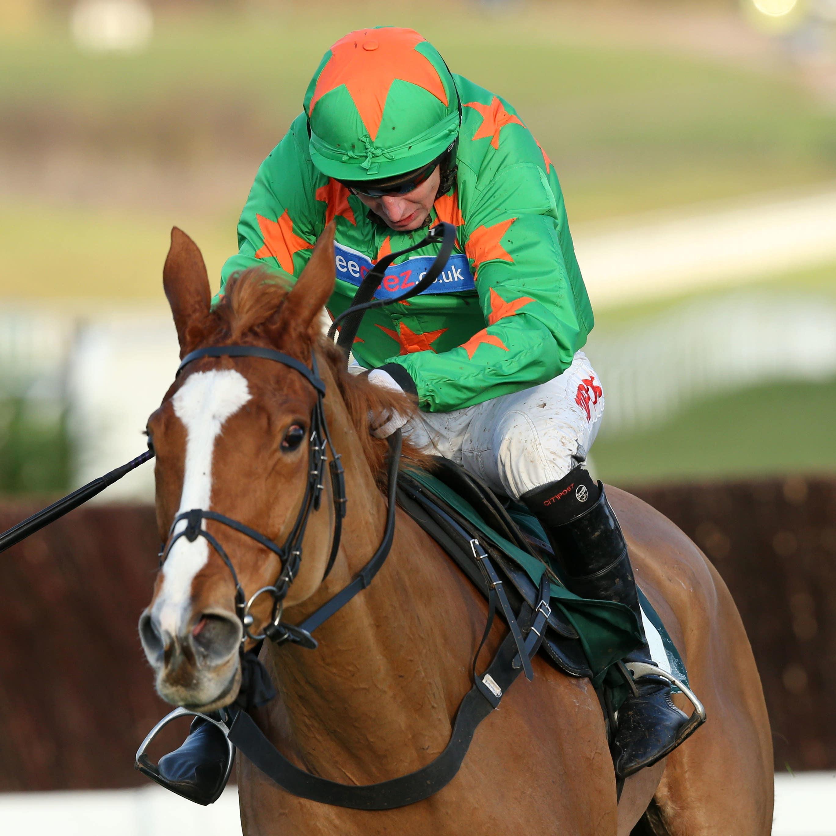 Ms Parfois on her way to winning at Cheltenham