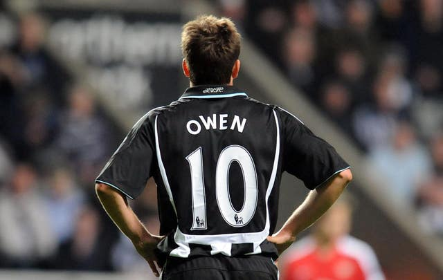 Newcastle won the race to sign Michael Owen