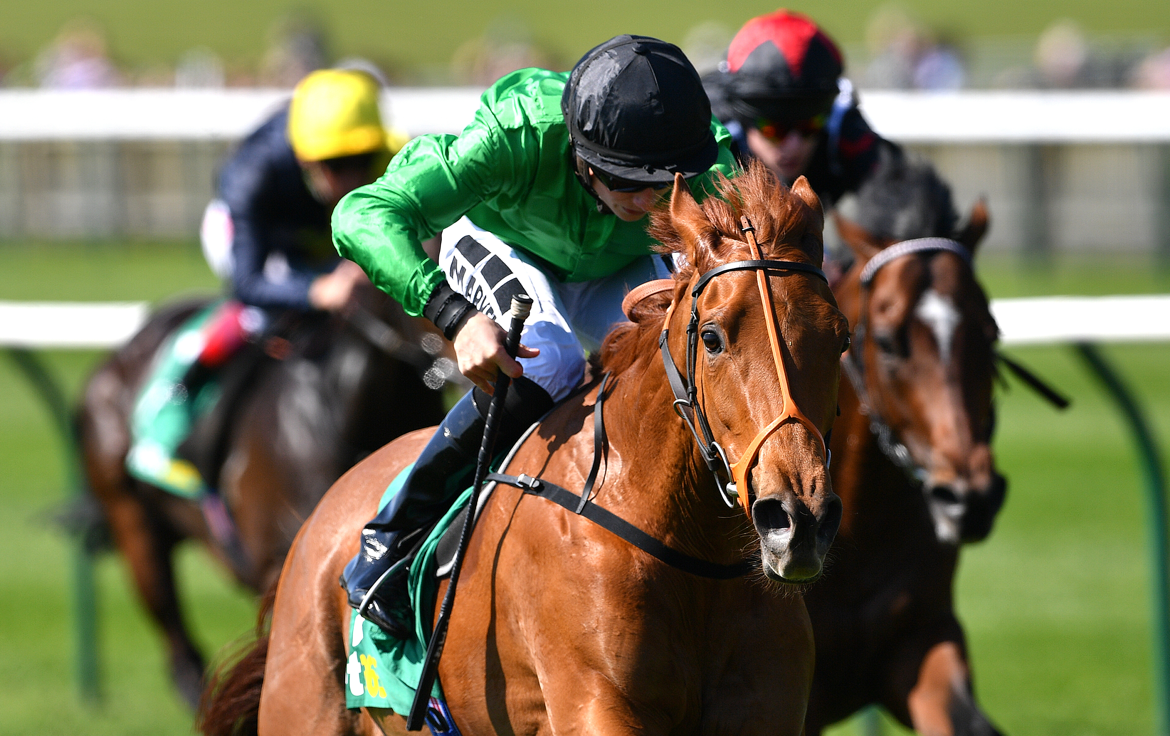 Tom Marquand hopes Anna Nerium can gain the first Group Two win of her career in the Duke of Cambridge Stakes at Royal Ascot