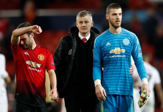 Ole Gunnar Solskjaer is hoping David De Gea's future is sorted by the club