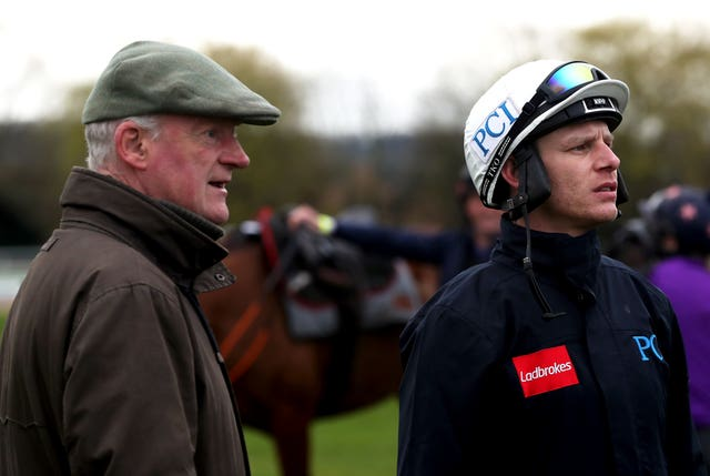 Willie Mullins and Paul Townend successfully teamed up with My Sister Sarah