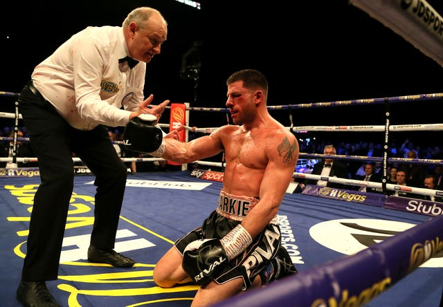 Mark DeLuca was knocked out in the seventh round