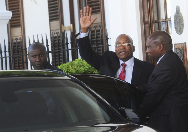 South African President Jacob Zuma has been dogged by corruption allegations (AP)
