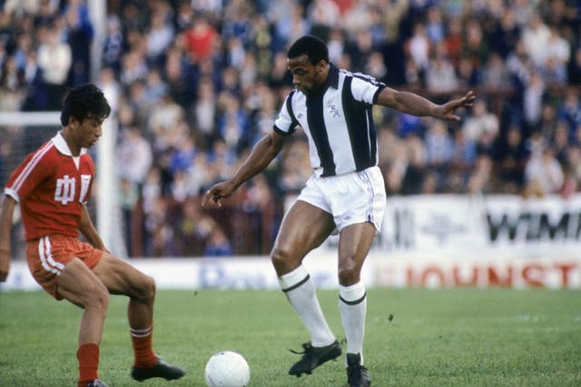The closest Regis came to honours with West Brom was as a beaten FA Cup semi-finalist in 1978 and 1982 and reaching the same stage of the League Cup in 1982