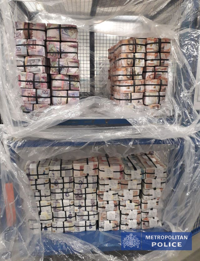 £5.1m in cash seized in Operation Venetic