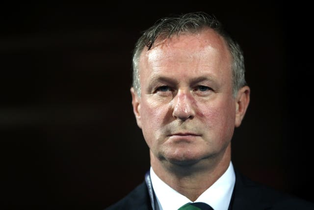Michael O'Neill's Northern Ireland lost all four of their Nations League games (Tim Goode/PA).