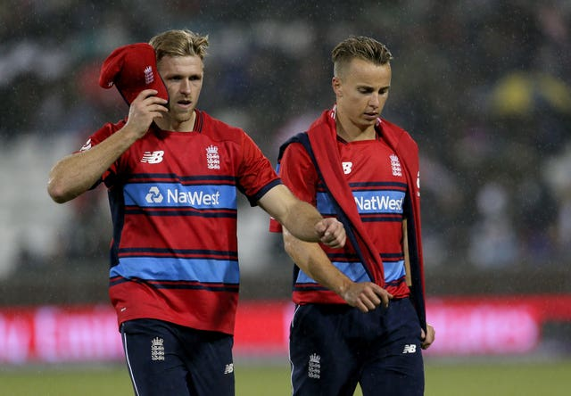 David Willey and Tom Curran could find their place under threat