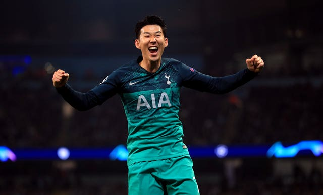 Son Heung-min scored twice for Spurs
