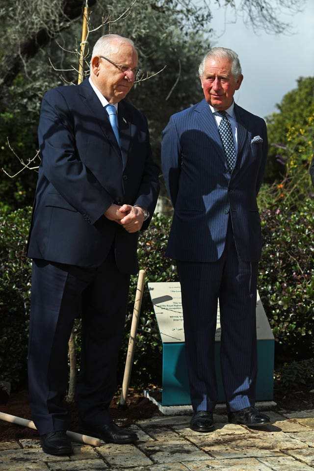 Royal visit to Israel and the Palestinian territories – Day One