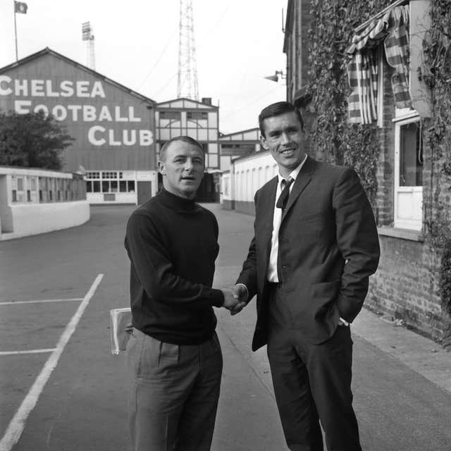 Soccer – Tony Hateley Signing – Chelsea – Stamford Bridge