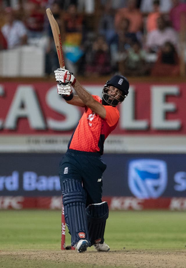 Moeen Ali impressed with some powerful hitting