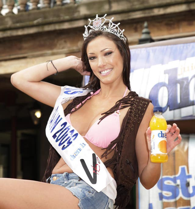 Miss Great Britain Launches Drench Water – London