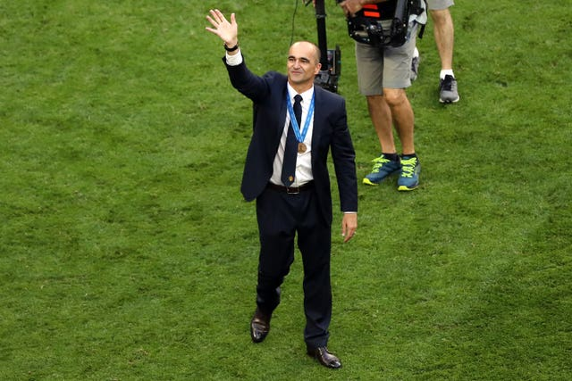 Roberto Martinez led Belgium to third at the 2018 World Cup