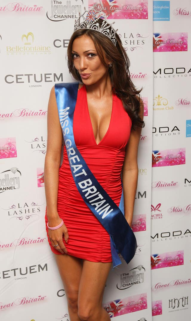 Miss Great Britain party – London