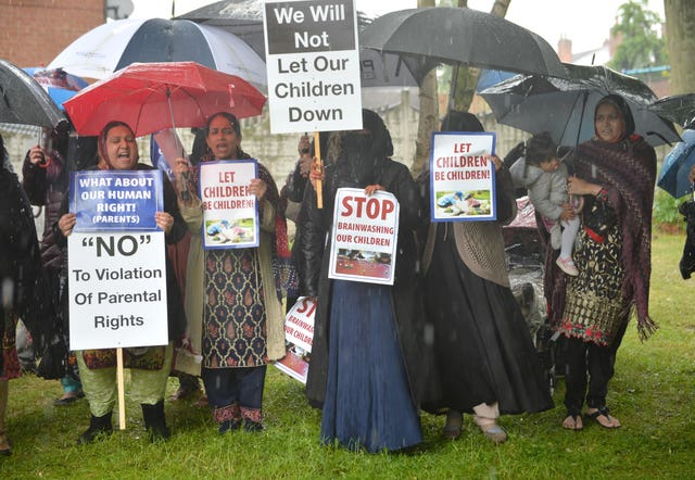 LGBT education protests