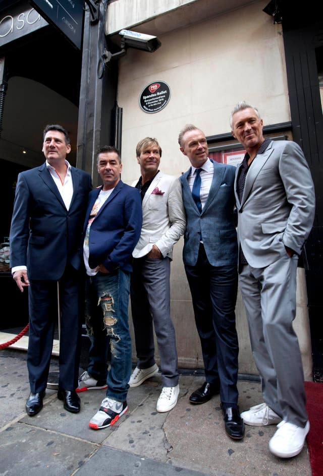 Spandau Ballet at Blitz Club
