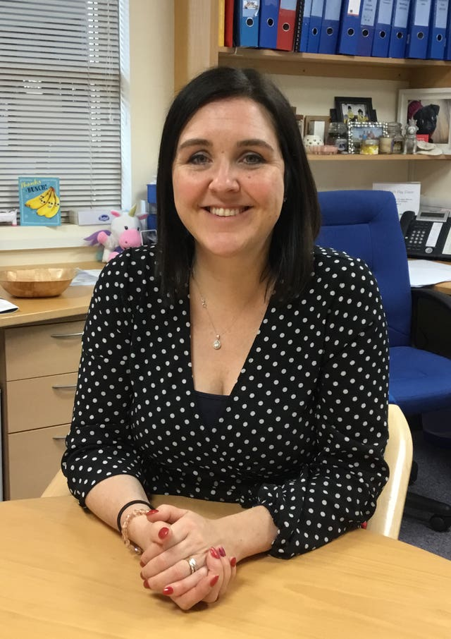 Wensley Fold headteacher Donna Simpson