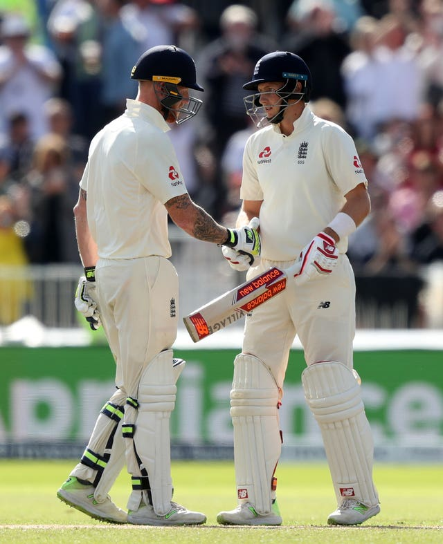Ben Stokes, left, and Joe Root