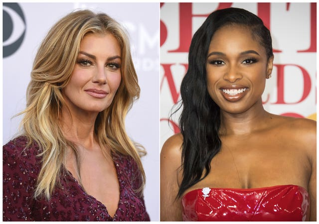 Faith Hill and Jennifer Hudson