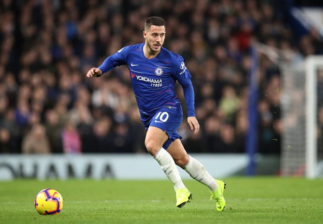 Chelsea's Eden Hazard was influential in Chelsea's win