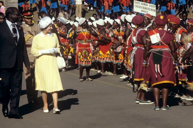 Royalty – Queen Tour of Kenya – Nairobi