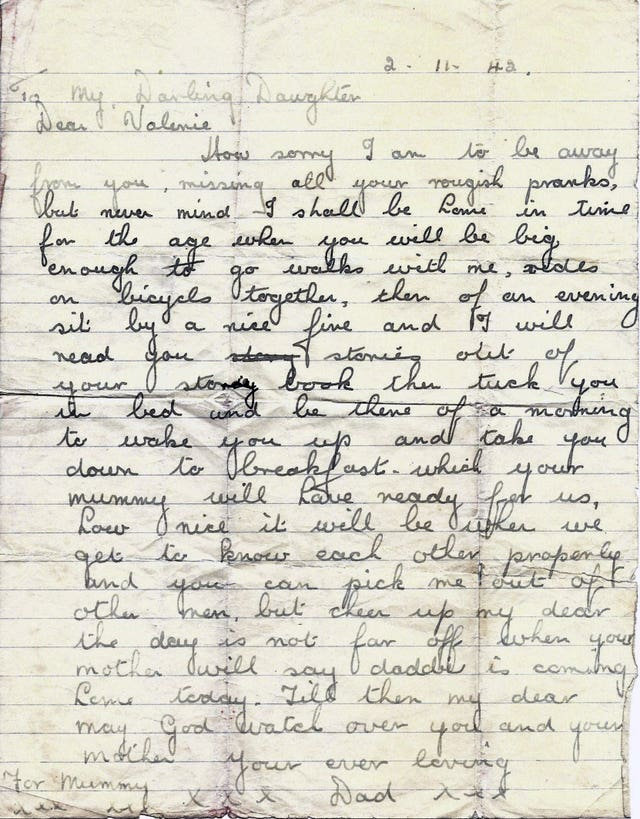 Letter written by Lance Corporal James Ambrose