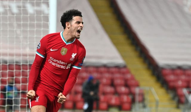 Curtis Jones scored his first Champions League goal with the winner against Ajax last week