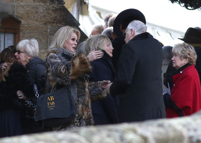 June Whitfield funeral